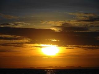 2012-9-4 沖縄県美々ビーチの夕日